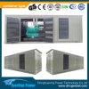 Sistema de generador diesel silencioso refrigerado por agua de 700kw Doosan