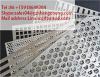 Maille en acier de trou perforé de /Stainless de plaque de maille de trou de poinçon (prix usine, ISO9001 : 2000)