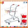 Supermarkt-Korb-Einkaufswagen-Laufkatze (Zht65)