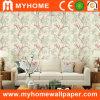 Chinoiseries Papier peint avec de belles fleurs gaufré profonde