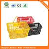 Supermarché facile des paniers à provisions en plastique (JS-SBN01)