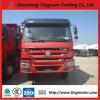 HOWO Caminhão Basculante Caminhão Dumper de caixa basculante