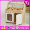 Комплект игрушки мебели кухни нового типа деревянный, дети игрушки большой деревянной кухни игры установленные варя игрушку W10c160