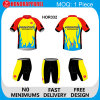 Men poco costoso Short Sleeve Cycling Jersey con 3 Rear Pockets