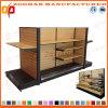 Prateleira de madeira personalizada nova da loja do supermercado (Zhs253)