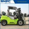 ペーパーロールクランプ価格の中国Snsc 3ton LPGのフォークリフト