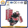 Großer Berufskosmetischer Laufkatze-Verfassungs-Aluminiumfall (HB-3306)