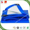 Lona de PE azul/branco Folha, Tarpolin cobrir