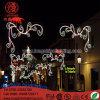 LED Lightng屋外のクリスマスの照明のための第2 Ploeのモチーフの街灯