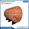 Sauna tradicional del barril del sitio de la sauna para el mercado de Oveasea