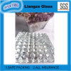 Verre feuilleté ultra clair de cristal avec plus de la transmittance de 91%