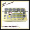 Dingli 42seu 656PCS caixa do Kit de Anel O para a Caterpillar