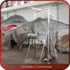 Pés do couro cru do traje do dinossauro de Animatronic do equipamento do campo de jogos