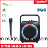Feiyang/Temeisheng Mini Navulbare Actieve Spreker Bluetooth met Kleurrijke LEIDEN Licht --F105s