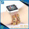 Bracelet de montre faux de gemme de diamant de femmes de Bling pour la montre d'Apple