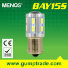 Mengs&reg ; 1156 éclairage LED de Ba15s 12W Auto avec du CE RoHS SMD 2 Years'warranty (120120013)