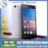 OEM 5 teléfono elegante androide de la base de Kitkat 4.4 Mtk6592 Octa de la pulgada (W3)
