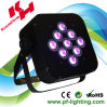 9*10W 4in1 Battery Wireless Flat LED PAR Light