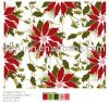 Redonda Cloth/Cover flor do Natal do PE