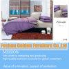Пурпуровый комплект постельных принадлежностей хлопка цвета