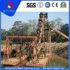 Equipamento de mineração de ouro / Mineração de ouro Barco de dragagem para Placer Gold Mining