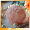 Decorazione di cerimonia nuziale della candela della sfera della Rosa