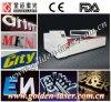 Haciendo publicidad de insignia/de número/de letras/de la cortadora del laser de la muestra para de acrílico, de madera, plexiglás, resina, metal (JMSCJG-130250DT)
