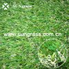 25mm herbe artificielle d'horizontal de quatre couleurs (SUNQ-HY00108)
