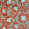 Nylon de 100% Organdy Embroidery avec Polyester Yarn