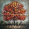 旧式な性質の景色の木の油絵(LH-141000)