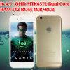 신제품 황금 이중 Core/Quad 코어 지능적인 전화 I6
