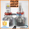 H11 de LEIDENE van Philips Lumileds Uitrusting van de Koplamp