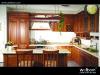 De Naar maat gemaakte Klassieke Stevige Houten Keukenkast van ISO Welbom
