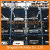 O CE certificou o elevador mecânico do estacionamento do empilhador de quatro bornes (FPSP-4)