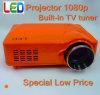 Projecteur portatif de HD LED construit dans l'appui HDMI 1080p (D9HB) de tuner de TV