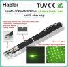 Penna verde dell'indicatore del laser