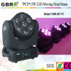 7PCS DEL Moving Head Beam Light