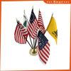 Förderung-nationale Büro-Tisch-Markierungsfahne aller Länder