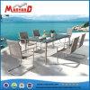新しいデザインによって編まれる椅子ガラス上表セット