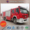 HOWO 6X4 Foam&Dry 분말 화재 차량 Gp100