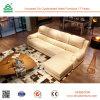 شكل خشبيّة إطار جلد يكيّف أريكة مع مسند ظهر