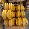 Pièces de châssis porteur de l'excavateur galets de chenille, galet inférieur pour la construction des pièces de machines