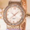 De Polshorloges van de Manier van het Horloge van het Kwarts van het Embleem van de douane voor de Dames van Mensen (wy-17007A)