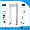 Haute fiabilité du détecteur de métal Walk-Through multi zones Detectors-Walk par le biais de métal