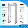 Alta fiabilidade pórtico detector de metal Zonas múltiplas Detectors-Walk Metal através de