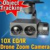 Camera van het Gezoem van de Hommel van de Sensor van de adelaar oog-10ie 10X Eo/IR Dubbele met het Volgen en Geotagging voor de Inspectie van de Visie van de Nacht, Onderzoek, Redding, Afbeelding, LuchtFotografie