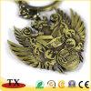 Schöne klassische Andenken-Kupfer-und Bronzen-Überzug-Metallzink-Legierung Keychain