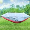 Campo que acampa para la hamaca del paracaídas del mosquito