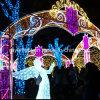 Xmas 겨울 공원 훈장을%s 옥외 LED 천사 훈장 빛
