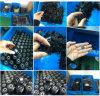 Rand-Typ O-Ring/olivgrüner des Qualität hitzebeständiger Viton Gummi-fünf Ring
